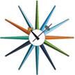 george_nelson_sunburst_clock_multi