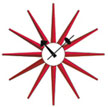 george_nelson_sunburst_clock_red